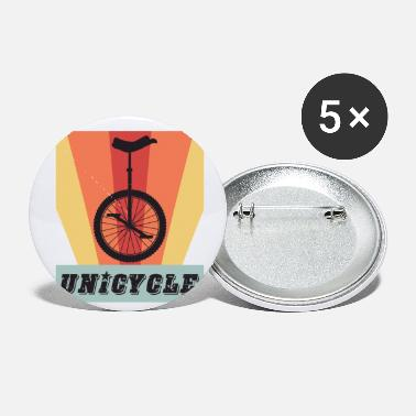 Trial Retro Unicycle - Small Buttons