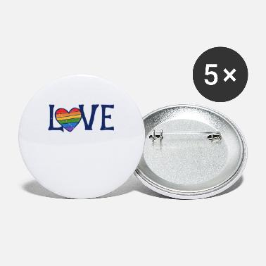 Gay Rights love gay rights - Small Buttons