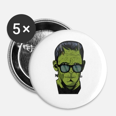 Halloween Frankenstein's monster Hipster Halloween costume - Small Buttons