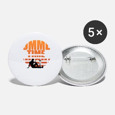Hookah Summertime is hookah time saying gift - Small Buttons