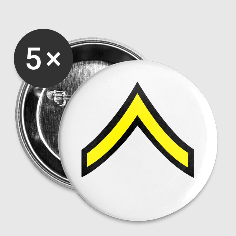 army rank patch private  - Small Buttons