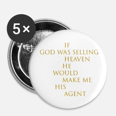 Sell selling heaven - Small Buttons