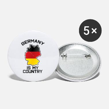 Expat Germany Is My Country Pride Giftidea - Small Buttons