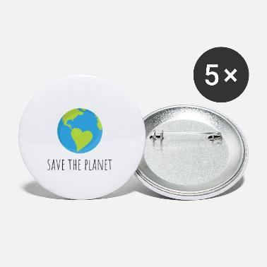 Planet save the planet - Small Buttons