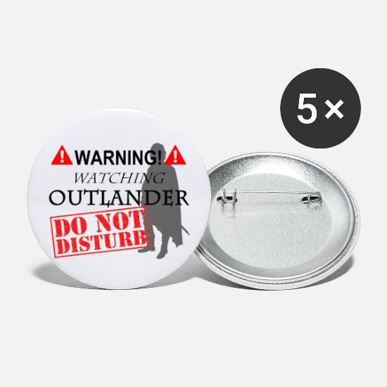 Jamie Buttons - Do Not Disturb OUTLANDER - Small Buttons white