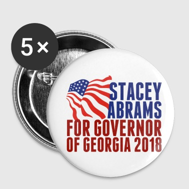 Democratic Party Stacey Abrams for Governor of Georgia 2018 - Small Buttons