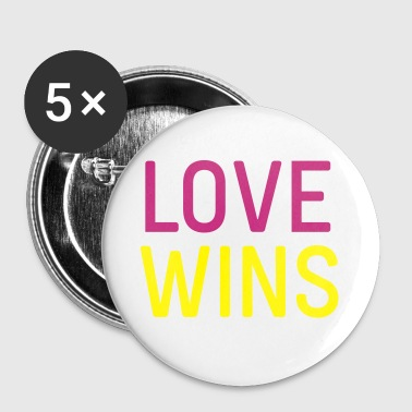 love wins - Small Buttons