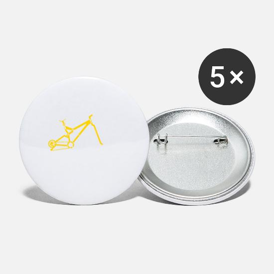 Symbol  Buttons - Mountain Bike - Small Buttons white