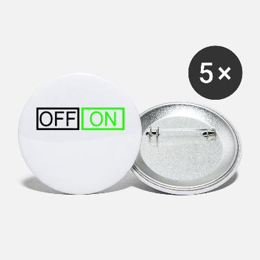 Off OFF or ON - Small Buttons