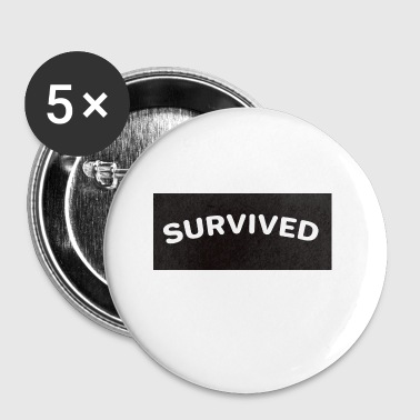 SURVIVED - Small Buttons