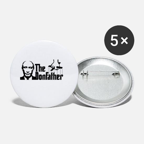 Russia Buttons - #Donfather - Small Buttons white
