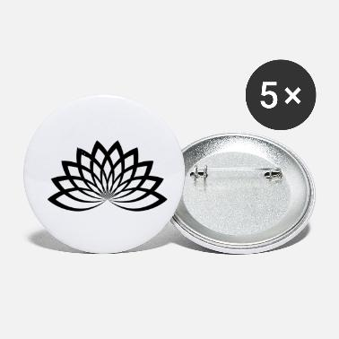 Lotus Lotus Abstract Flower Summer - Small Buttons