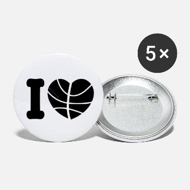 Basketball Lover basketball lover - Small Buttons