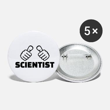 Scientist Scientist - Small Buttons