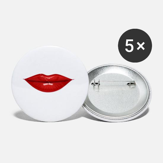 Lip Buttons - lip gloss - Small Buttons white