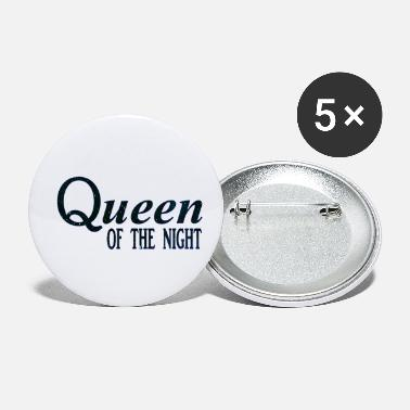 queen dark blue small - Small Buttons