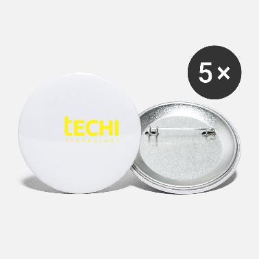 Technology Technology Round - Small Buttons