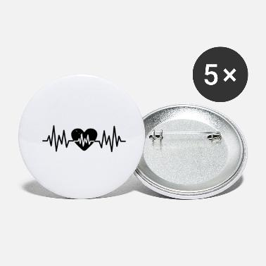 Heart Rate Heart Rate Love - Small Buttons