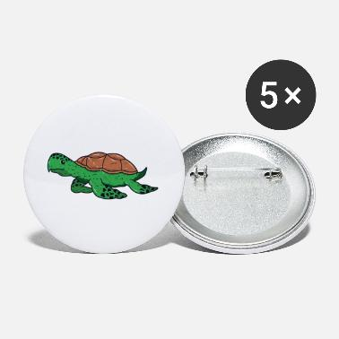 Animal Animal turtle reptile wildlife funny vector image - Small Buttons