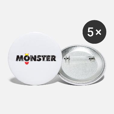 Monster Monster - Small Buttons