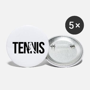 Player tennis player - Small Buttons