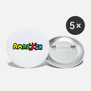 Kenya Cool Amazigh Design Flag by Milaino - Small Buttons