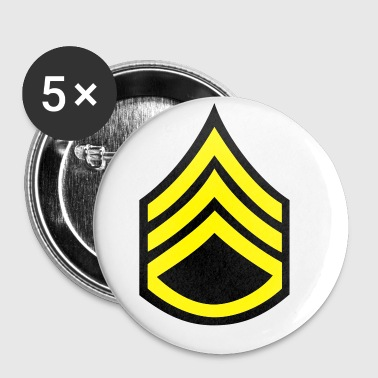 army rank patch staff sergeant - Small Buttons