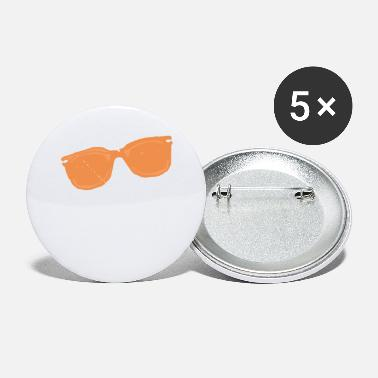 Trendy Trendy Orange Sunglasses Design - Small Buttons