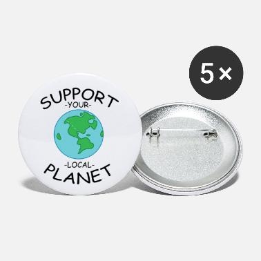 Antarctic Support Your Planet - Small Buttons