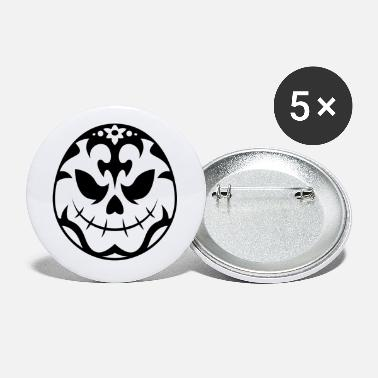 Trick Or Treat Skull pumpkin - Small Buttons