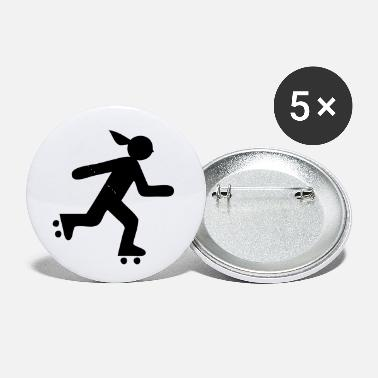 Roller Girl Roller Girl - Small Buttons