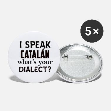Catalan Designs catalan dialect - Small Buttons