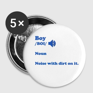 Noise Boy Noise - Small Buttons
