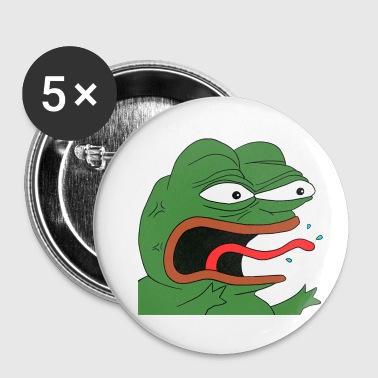 Angry Pepe - Small Buttons