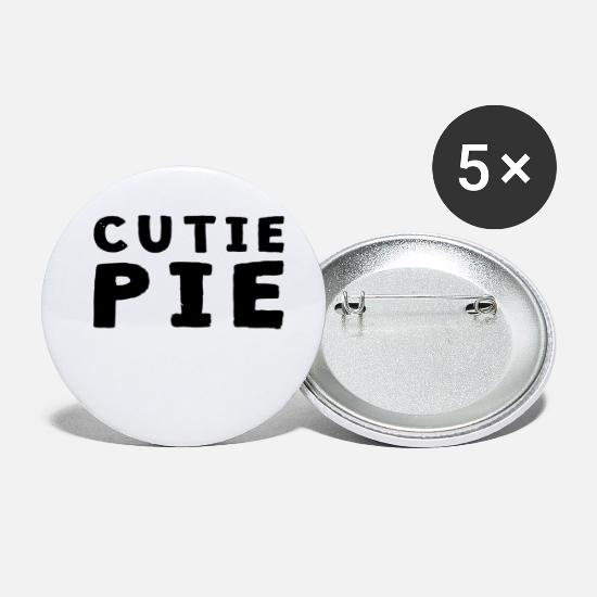Pie Buttons - Cutie Pie - Small Buttons white