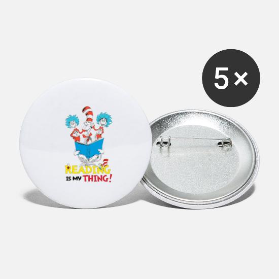 Teacher Buttons - Thing - Small Buttons white