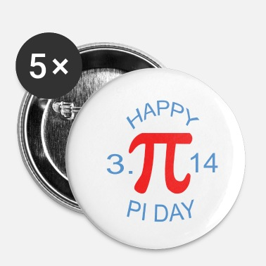 Pi Day Happy Pi Day - Small Buttons