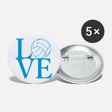 Volleyball Love Volleyball - Small Buttons