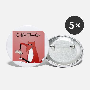 Junkie Coffee Junkie - Small Buttons