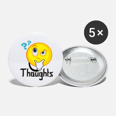 Thoughts Thoughts - Small Buttons