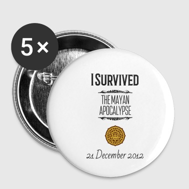 I Survived I survived - Small Buttons