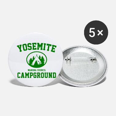 Campground Yosemite Campground - Small Buttons