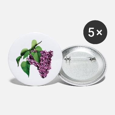 Lilac Magenta Lilacs - Small Buttons