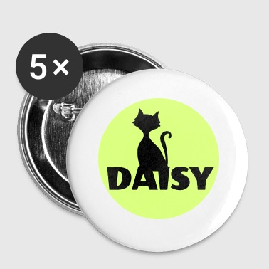 Firstname Daisy firstname cats name - Small Buttons