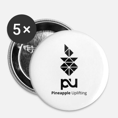 Uplifting Pineapple Uplifting - Buttons small 1'' (5-pack)