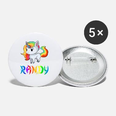 Randi Present Randy Unicorn - Small Buttons