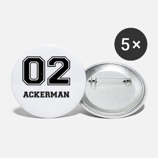 Attack Buttons - ackerman - Small Buttons white