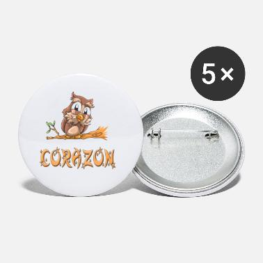 Corazon Corazon Owl - Small Buttons