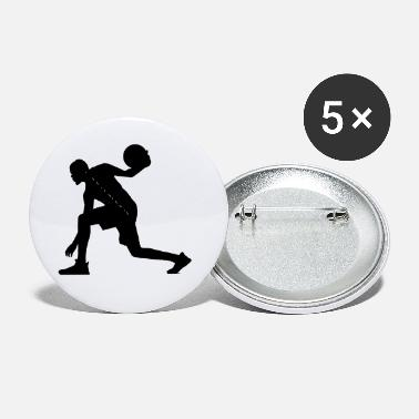 Basketball Player Basketball Basketball Player - Small Buttons