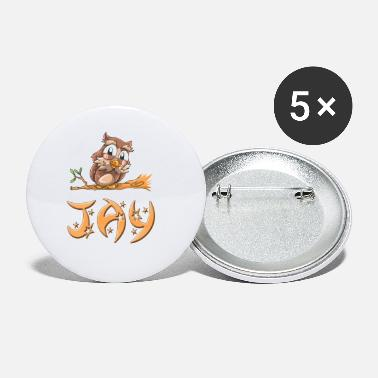 Jay Jay Owl - Small Buttons